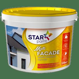 Multi FACADE фасадная краска STAR Paint