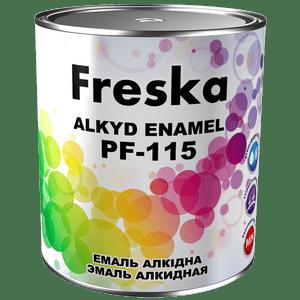 Эмаль алкидная ПФ-115 Freska