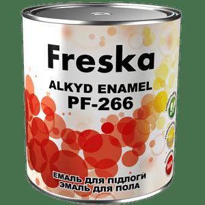 Эмаль для окраски полов алкидная ПФ-266 Freska