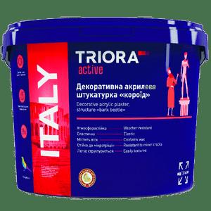 Акриловая штукатурка «короед» «ITALY» TRIORA active