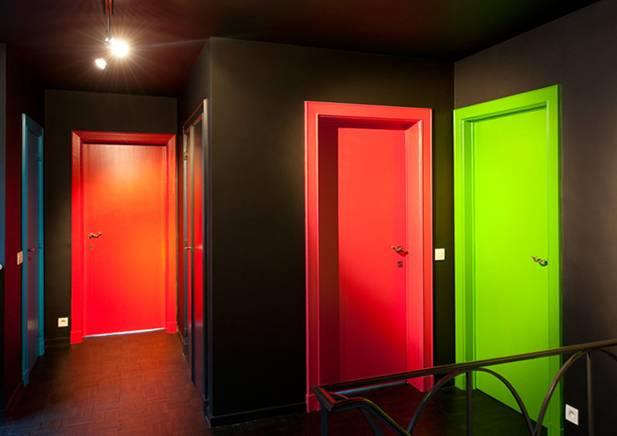 двери стальные окрашенные внутри помещений