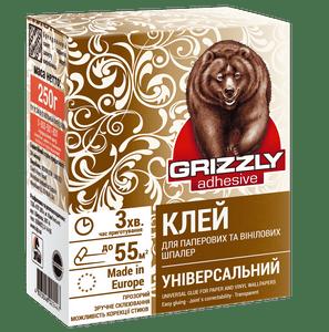 Клей для бумажных и виниловых обоев Grizzly