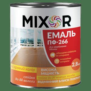 Эмаль алкидная для окраски пола ПФ-266 Mixor