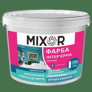 Интерьерная краска сатиновая MIXOR
