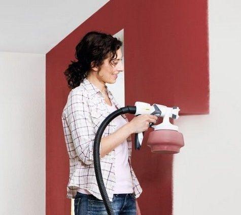 Роспись стен своими руками: модные эффекты с пульверизатором