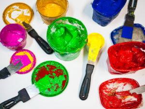 Как хранить остатки краски?