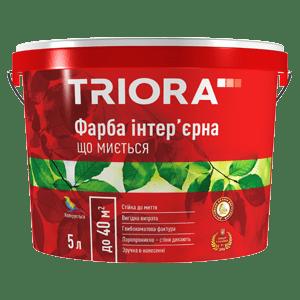 Краска интерьерная для спален и гостиных TRIORA