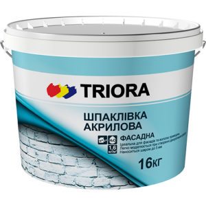 Шпаклевка фасадная акриловая TRIORA