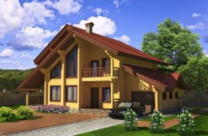 Как красиво покрасить дом