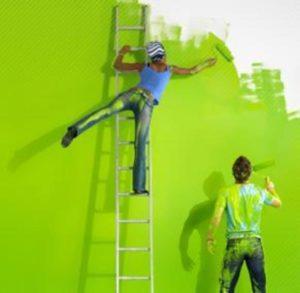 Как красить стены правильно?